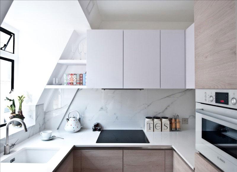 Ideas para sacar partido a una cocina pequeña