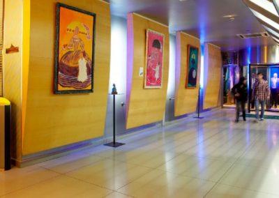 Interior del hotel Abba Park