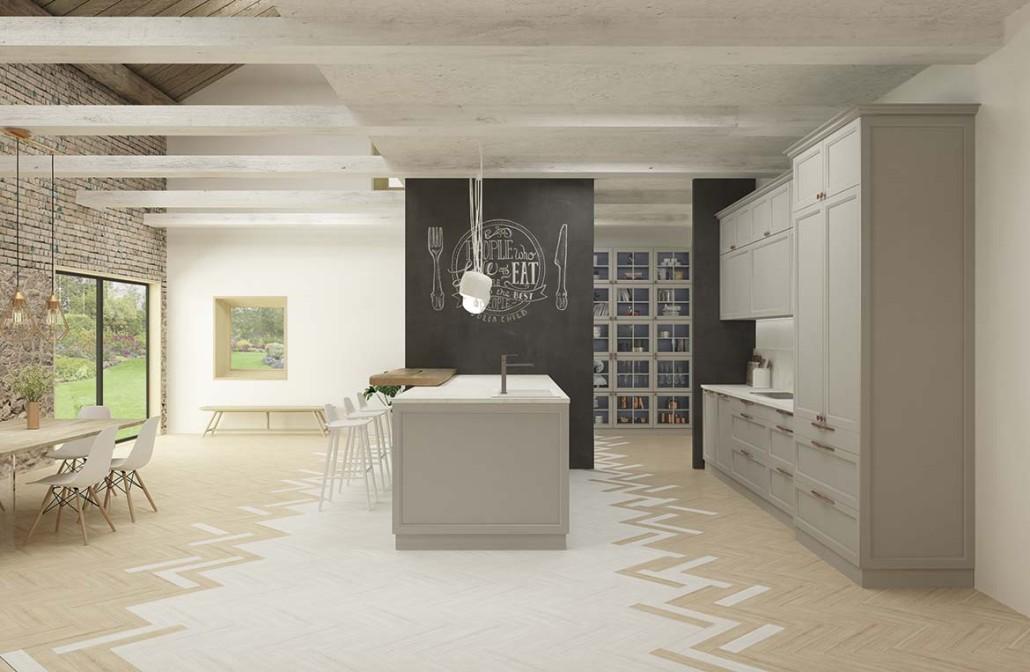 Tipos de distribuciones y ergonomía en la cocina