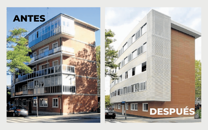 Un universo de materiales para rejuvenecer un edificio (Parte I)